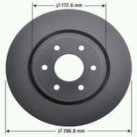 4 NEW ROTORS FOR CHEVY TRUCKS