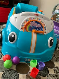Fisher Price Crawl around Car Blue