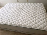 quilted white and gray mattress Lanham, 20706