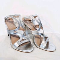 Silver high heels Greater London, E14 8HY