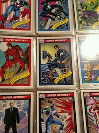 450 assorted comic trading cards Woodbridge, 22192