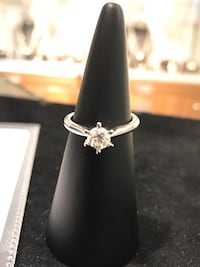 White gold original Diamond Ring Hafrsfjord, 4042