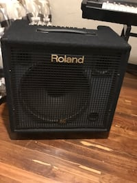 Roland RD-700sx with KC-550 amp, ALL extras included Evergreen, 80439