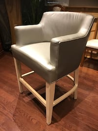 Big size silver chair
