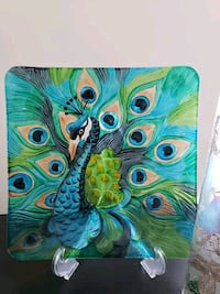green and blue abstract painting Columbia, 21046