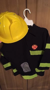 Fireman Costume - size Medium  Vaughan, L6A 1E8
