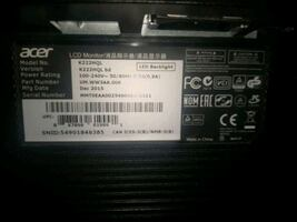 """Monitor """"acer"""""""