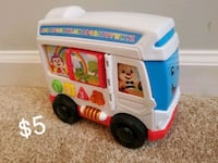 fisher price learning bus Williamsburg, 23185