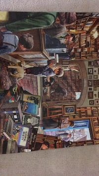 Glued jigsaw puzzle - 24x30 inch. 1000 pieces. Centreville, 20120