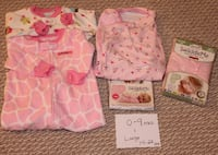 Baby Girl Swaddles in Lots (Sizes NB - 9 mos) Frederick