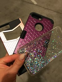 Purple and black iPhone 7 Plus cases Caldwell, 83607