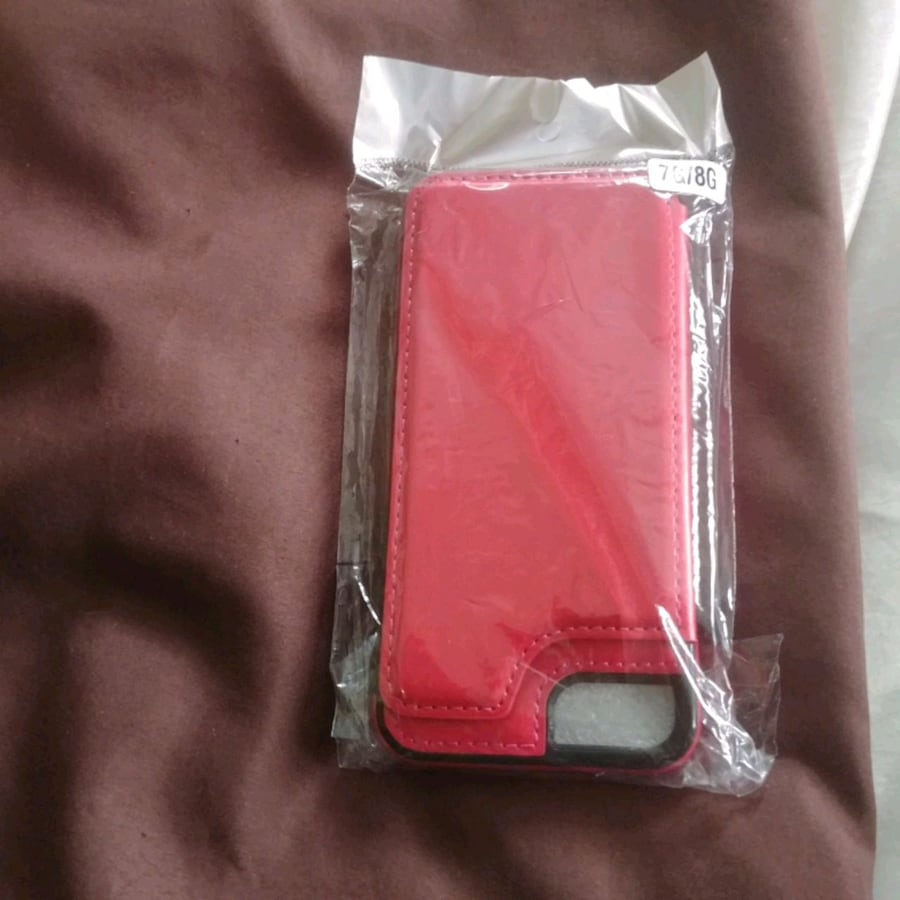 I phone 7/8 Leather wallet case