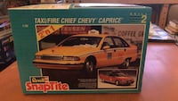 Chevy Caprice Yellow Taxi / Fire Chief Model Car Kit 1 25scale Revell  Toronto, M3A 1S6