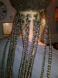 Offering hair styling: braids crochets Senegalese  Richmond