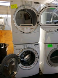 white front-load washer and dryer set Los Angeles, 91403