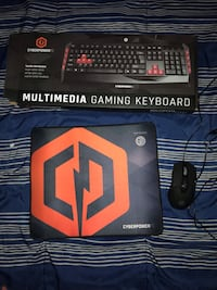 All brand new Cyberpower keyboard, mouse pad and mouse Chico, 95928