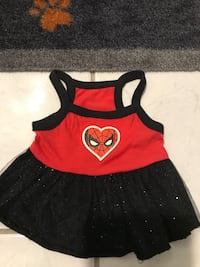 Spiderman dress by marvel comics for small dog extra small Mississauga, L5A 3B2