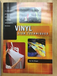 Vinyl Sign Training Books Port Moody, V3H 1R9