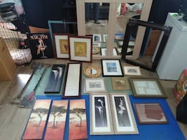 artwork picture frames and mirror