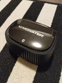 black Monster portable bluetooth speaker
