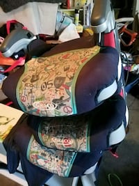 3 booster seats