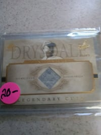 Don Drysdale legendary cuts card Evesham Township, 08053