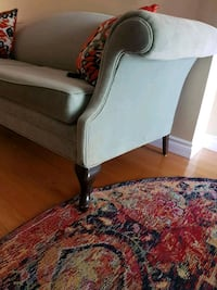 white and brown floral sofa chair Newmarket, L3X