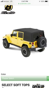 Jeep Wrangler Soft Top Pittsburgh, 15211