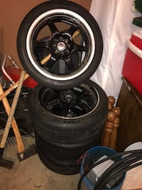 Four vehicle tires Springfield, 97477