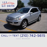 2007 Mercedes-Benz ML500 5.0L San Antonio, 78229