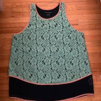 French Connection lace/layered tank Vancouver, V6E 1W2