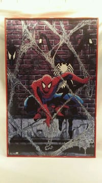 VINTAGE SPIDER-MAN 1990 MARVEL ORIGINAL POSTER  Roanoke, 24019