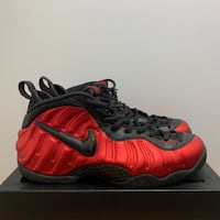 Nike foams university red