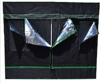 8x8 heavy duty Grow tent with all metal corners and frame more equipment available in description: lec cmh leds lights fans filters full kits Colorado Springs