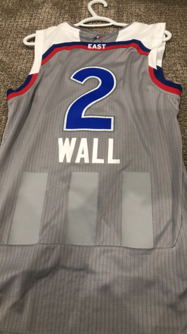 big sale 1c1a7 5ed7a John Wall 2017 nba all star game jersey mens size small