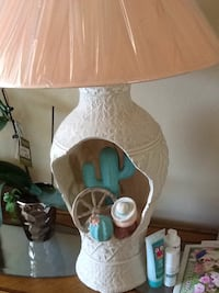 white and blue table lamp Surprise, 85379