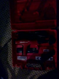 Hilti dx2 top of the line , brand new pin an washer nailer