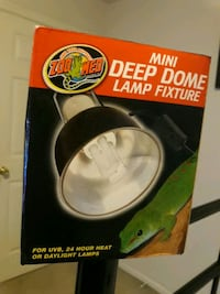 2 mini dome lamps