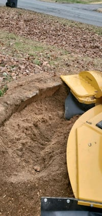 Stump grinding. Contact me for pricing. Old Town Manassas, 20112