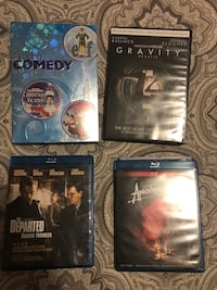 Blu-Ray and DVD's ($16 for all 4) Edmonton, T6R 3J1