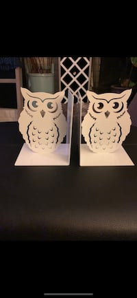 Bouclair Home Metal Owl Bookends