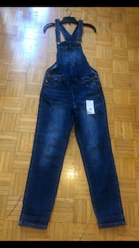 Bnwt jeans overalls