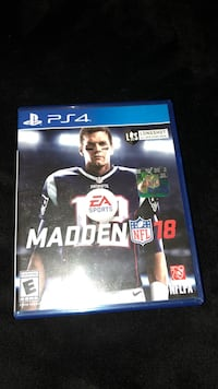 Madden nfl 18 ps4 game case Palm Bay, 32909