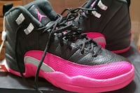 pair of black-and-pink Nike running shoes Mount Pleasant, 29464