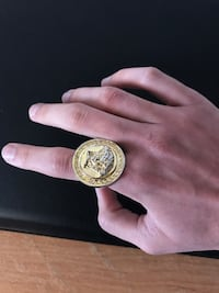 Gold Versace Ring Vaughan, L4L 5R6