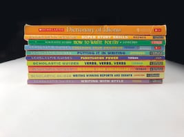 Scholastic Education School Guides Grammar, Essay Writing,Study Skills