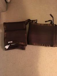 Reduced! Brown breathable baby crib liner Burnaby, V3J