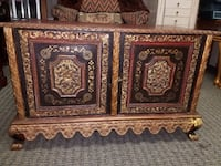 Asian hand carved cabinet chest with key Concord, 94520