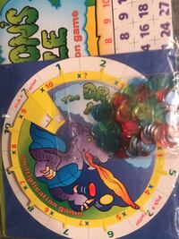 New Dragon's Maze Multiplication Game -ages 8+ Columbia, 21045
