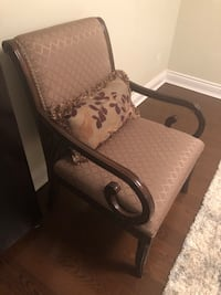 2 Arm Chairs ( Ashley ) $150 for both , pick up only Toronto, M9M 2K8